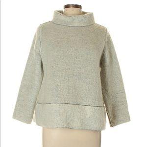 ZARA knit fuzzy pullover